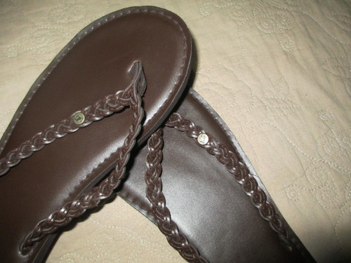 sandalias flip flap abercrombie kids small (7-8) 37 - 38