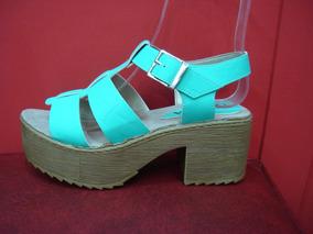 f1a3c2cd830 Sandalias Verdes Zapatos Y Franciscanas - Zapatos de Mujer en ...
