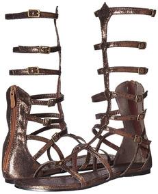 Libre Huaraches En Zapatos Romanos Centurion Marrón Hombre Mercado n0Nvm8w