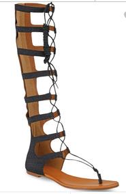 Sandalias Botas Bikinis Plataforma Gladiador Caña Alta TwuOkXZlPi