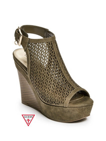 Guess Wedge Color Tacon Zapatos Dorado Mujer Mercado Sandalias En xdBorCeW