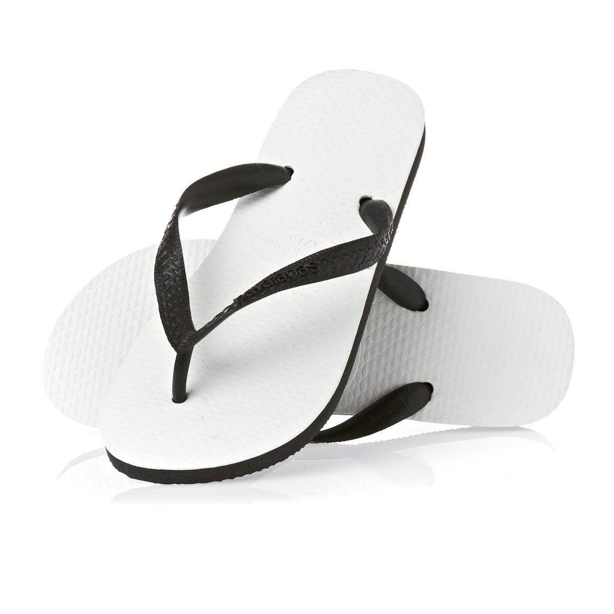 3ee72d668 sandalias havaianas tradicional (branco/preto) 35/36. Carregando zoom.
