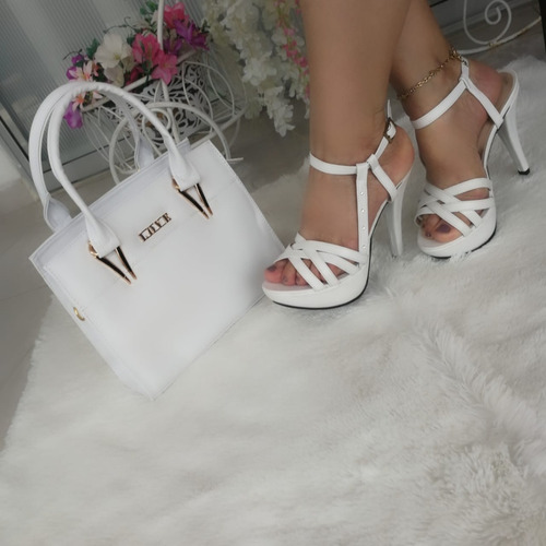 sandalias hermosas + cartera espectacular + envío gratis