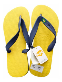 Brasileñas Dupe 5372 Amarillo Sandalias Hombre Playa exCBod