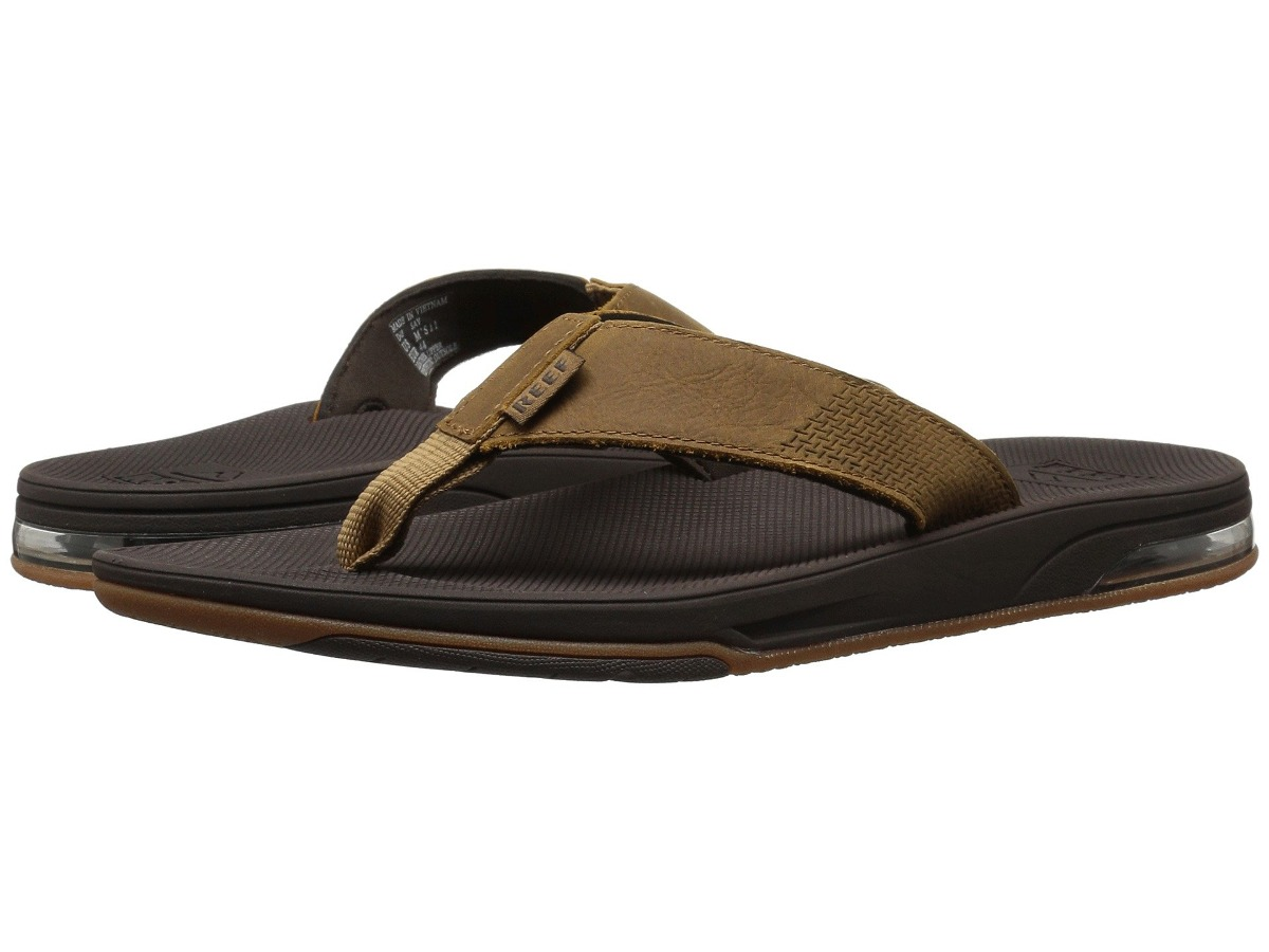a8592786f91 sandalias hombre reef leather fanning low se-7326. Cargando zoom.