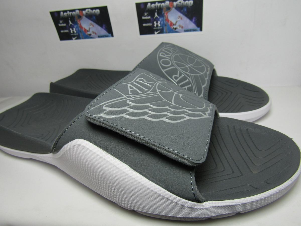 materiales de alta calidad calidad real comprar baratas Sandalias Jordan Hydro 7 Grey En Caja (28 Mex) Astroboyshop