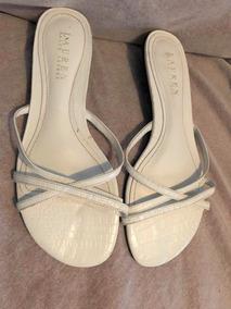 Europa Con Zapatos En Doradas Piedras Importadas Sandalias Planas drCexBo