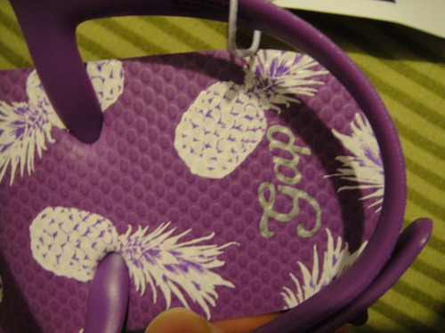 sandalias lilas gap de nina  talla 12/13 ( 517 )