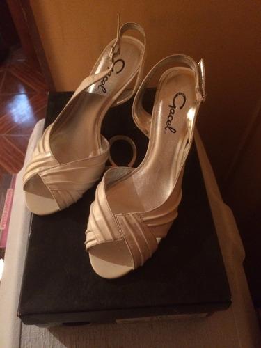 sandalias marca gacel casi nuevas