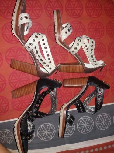 sandalias mujer 100% cuero shoes & shoes n°37