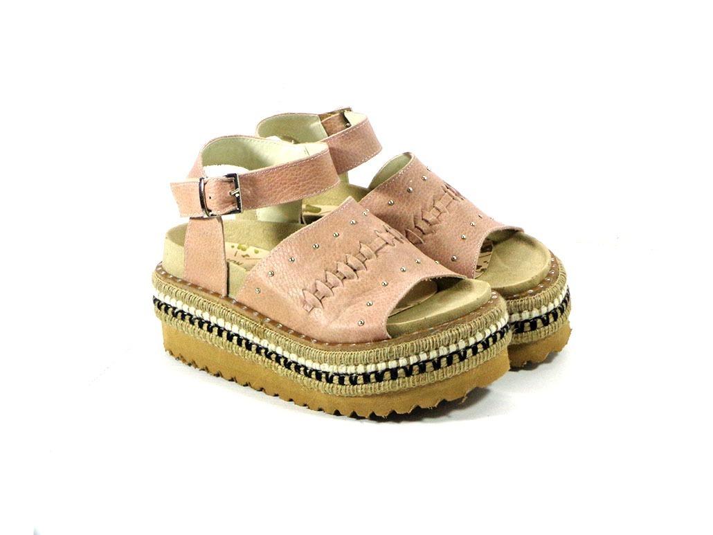 Sandalias Mujer 100% Cuero Zapatos Suecos Plataforma 2019 -   1.850 ... dd2b5c2792a8a