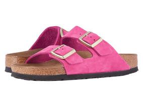 Arizona Sandalias Footbed Soft Mujer Birkenstock 3R5Lq4jA