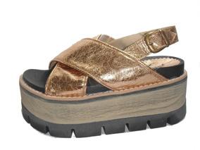 Dorado Sandalias 36 Mujer Plateadas Talle Cruzadas Zapatos De 7gbY6Ifyv