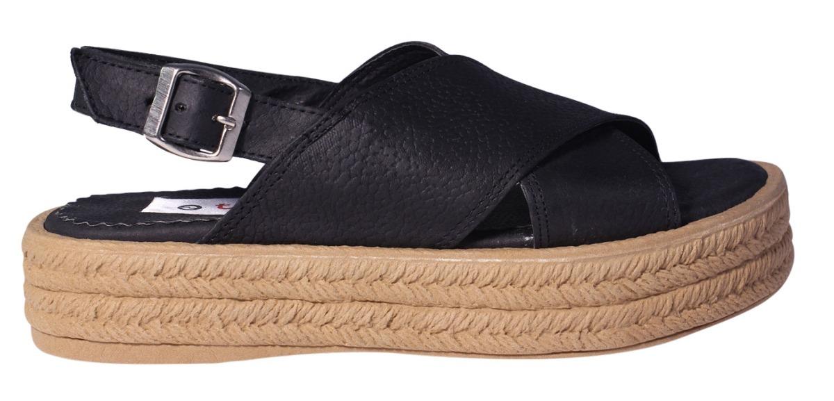 e6d3e849fee61 sandalias mujer cuero base plataforma goma moda verano tops. Cargando zoom.