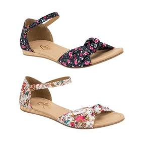 Kit Floreadas Tipo Textil 2 Sandalias Color Flats Pink Xd253 l1FcuKTJ3