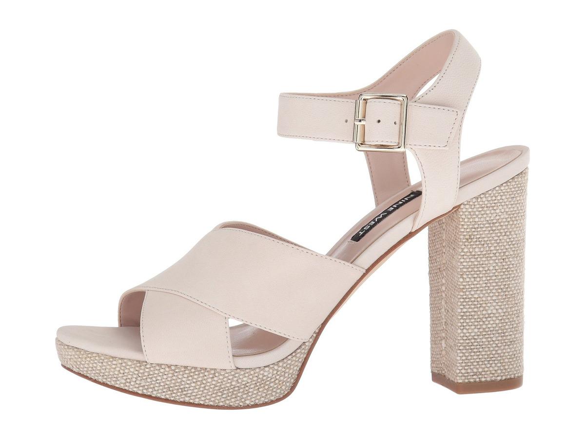 b108ca12e74 sandalias mujer nine west jimar platform block heel sandal. Cargando zoom.