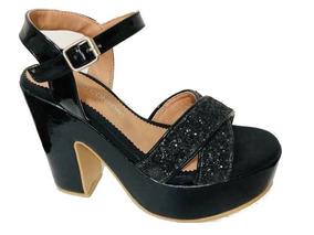 Zapatos Brillo En Libre Plataformas Mujer Mercado Sandalias De OXZPnwkN80