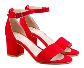 En Mercado Argentina Sandalias 2018 Libre Zapatos Rojas EHW9DYI2