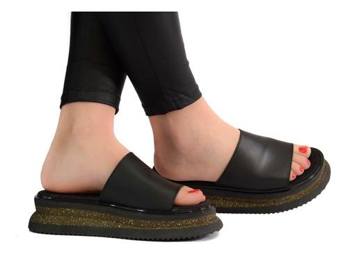 sandalias mujer zapatos plataforma 100% cuero vacuno calidad