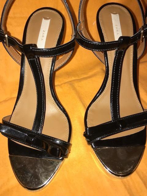 Zara Negras Sandalias Libre N°36799 00 Mujer En De Mercado 76fgby
