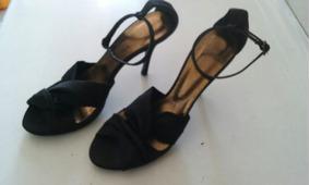 Sandalias Negras Marca 38 Zara Talla v6gY7fyb
