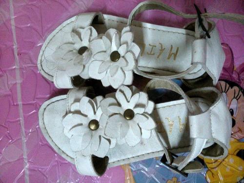 sandalias nena de cuero  n25