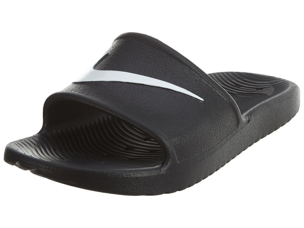 9171081a70604 sandalias nike kawa shower negro blanco 25-29 originales. Cargando zoom.