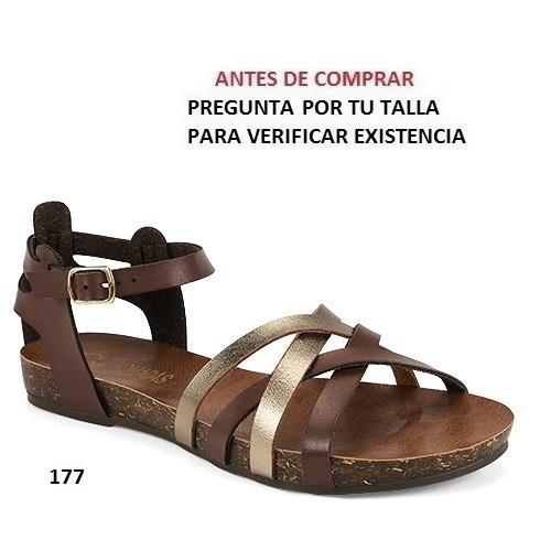 Sandalias Para Dama Nomadas Tanseda Mod4946 Color yvf7gYb6