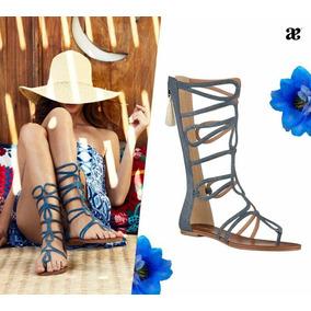 b2c9f66882b5f Huarache Gladiador Mujer - Zapatos en Mercado Libre México