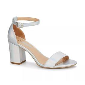 240b4734 Zapatos De Mujer Color Plata - Zapatos en Mercado Libre México
