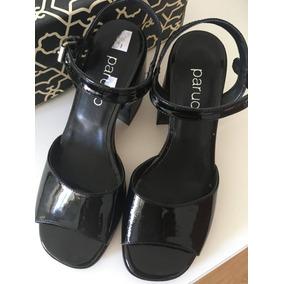 09089be909d Sandalia Paruolo Charol Cuero Cebra 36 Zapatos Y Sandalias ...
