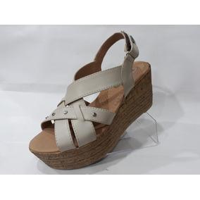 f4ba29530 Sandalias Color Hueso - Zapatos en Mercado Libre Argentina