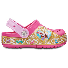 df44046c0e63 Crocs Originales Cb Disney Princess Lts Clog K Rosa Niños 6