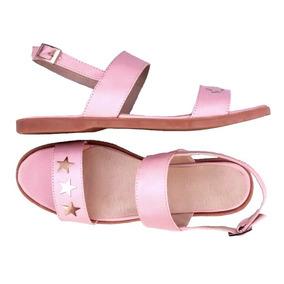 En Zapatos 41 Mujer Claro 43 Rosa Talle Sandalias Numero 3LAjR54