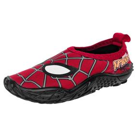 0935831e6 Sandalia Baño O Playa Spider Man Sandak Zenit Rojo 15-21 Q4