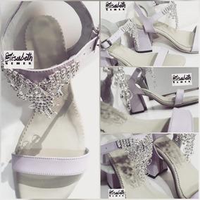 Para Sandalias T Plateadas Novia 41 7 Zapatos Stilletto Talle bf6gY7y