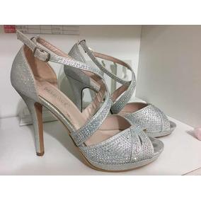 Brillo Sandalias Mujer En Con Plataforma ZapatosUsado tsQrBdCxh