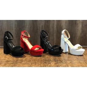 Palo Hebilla Sandalias Envio Zapatos Taco Eco Cuero Gratis dCBWQorex