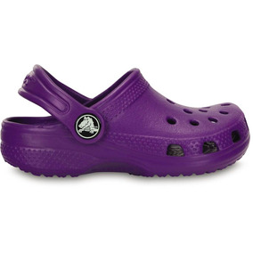 e63ef84d60 Crocs Originales Classic Violeta ·   909