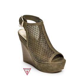 a329159322 Zapato Semicerrado Para Mujer Verde Tacon Wedge - Zapatos en Mercado ...