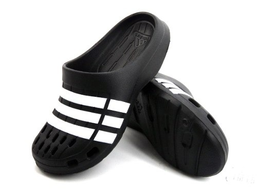 Negras Sandalias Duramo Clog Ojotas Crocs Adidas qSzUMVp