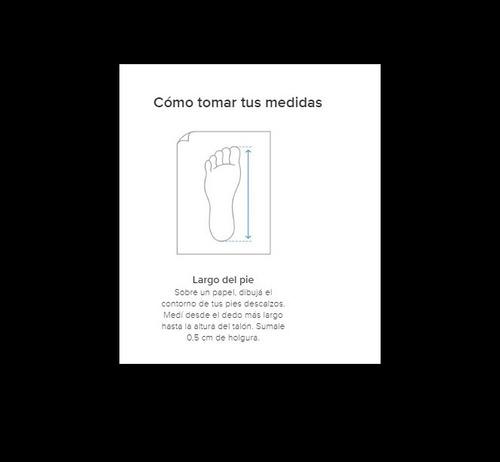 sandalias ojotas cuero 132804-03 pegada luminares