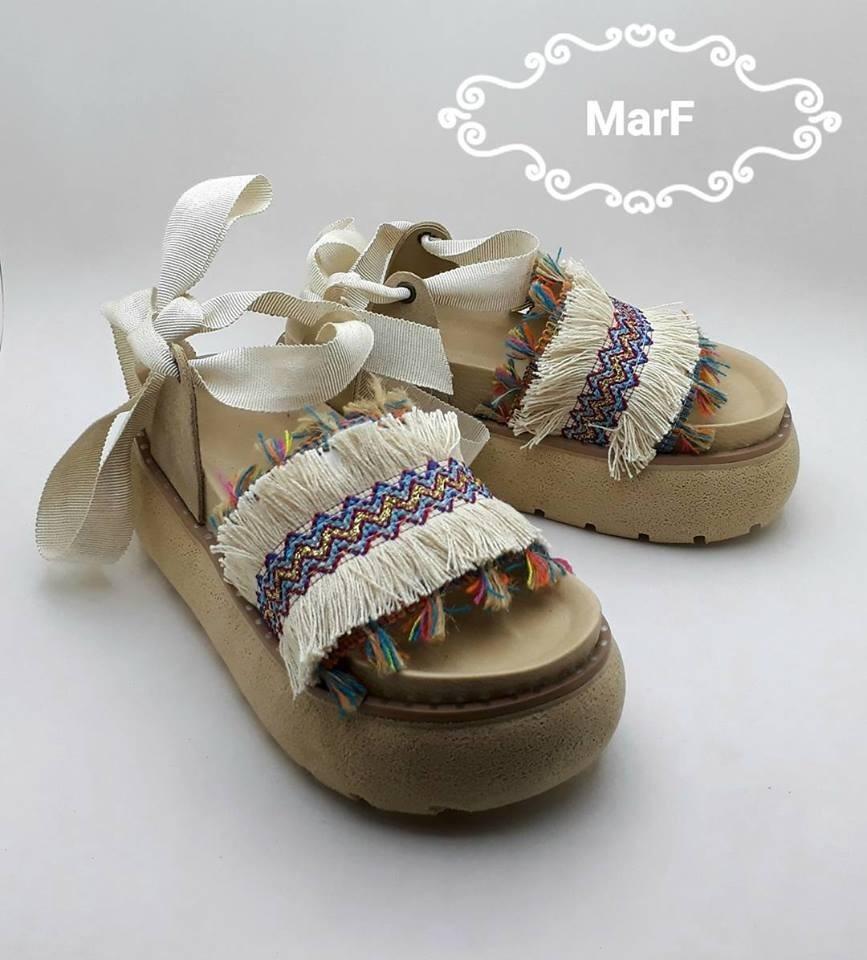 Zapatos Mujer Marf Sandalias Playa Ojotas Verano rexCdBoW