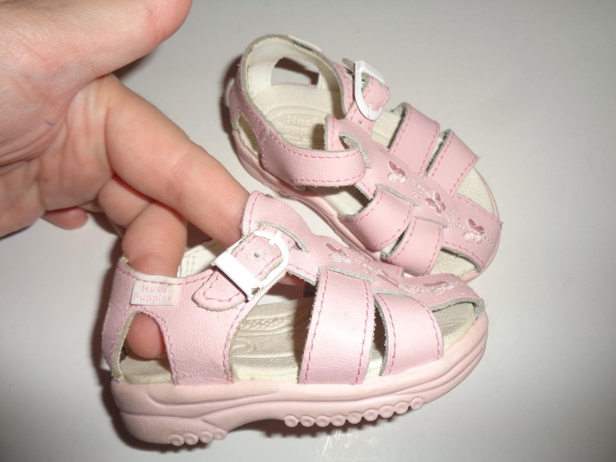d1c61121f Sandalias Para Bebe Nena Rosa Nro. 18 Hush Puppies -   400