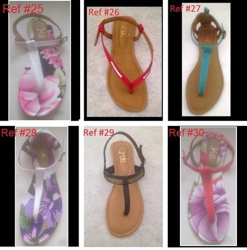 sandalias para dama al mayor y al detal