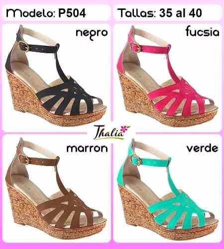 sandalias para dama marca thalia