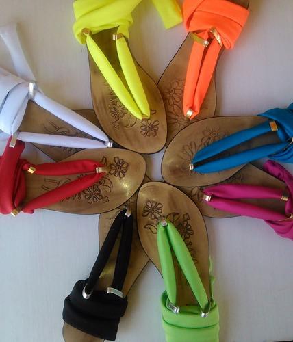 sandalias para damas y niñas mayor y detal