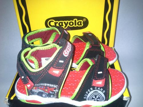 sandalias para niños crayola. modelos variados. de la 28-30.
