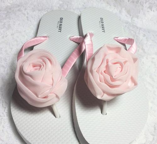 Sandalias para xv a os boda jard n o playa con rosa for Zapatos para boda en jardin