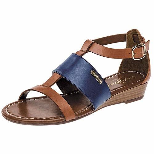 sandalias pepe jeans derby-1403 camel marino  pv